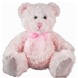 Pink Billie 25cm Sitting Bear