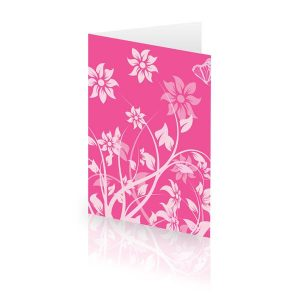 Pink Bloom Card