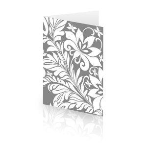 Elegant Silver Card