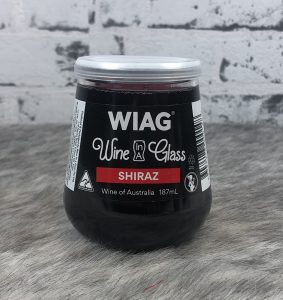 Wine In A Glass – Shiraz 187mL