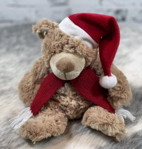 Brown Christmas Teddy