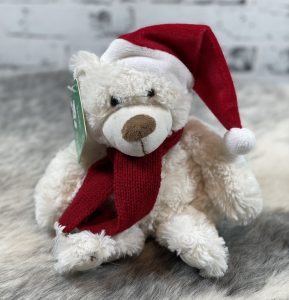 White Christmas Teddy