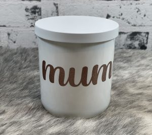 Champagne & Strawberries Soy Candle – 'Mum'