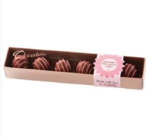 Chocolatier – Milk Chocolate Champagne Truffles 75g